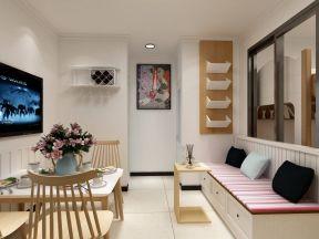 70平方房子設計圖 卡座沙發