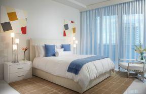 70平方房子設計圖 歐式臥室窗簾