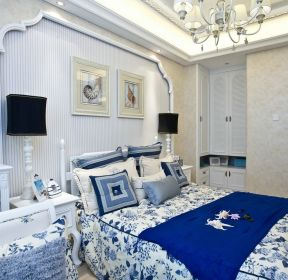 70平方房子地中海臥室設計圖  -每日推薦