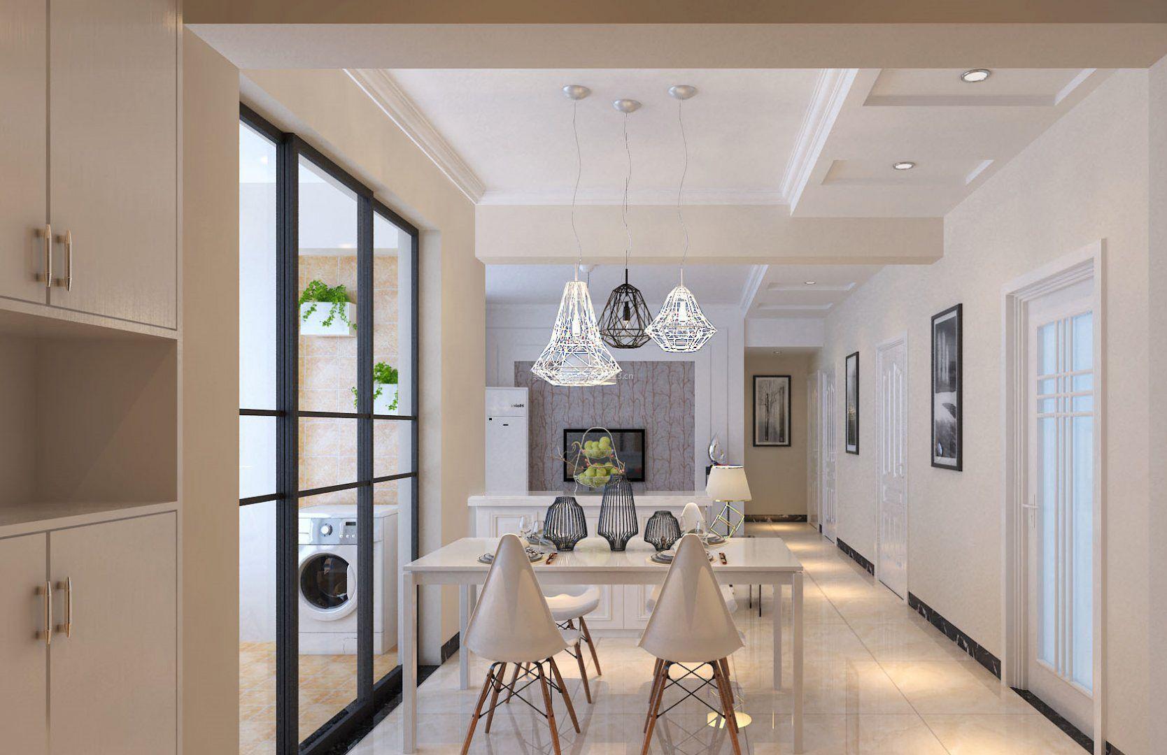 家装效果图 餐厅 简欧风格餐厅过道吊顶效果图 提供者:   ← → 可以
