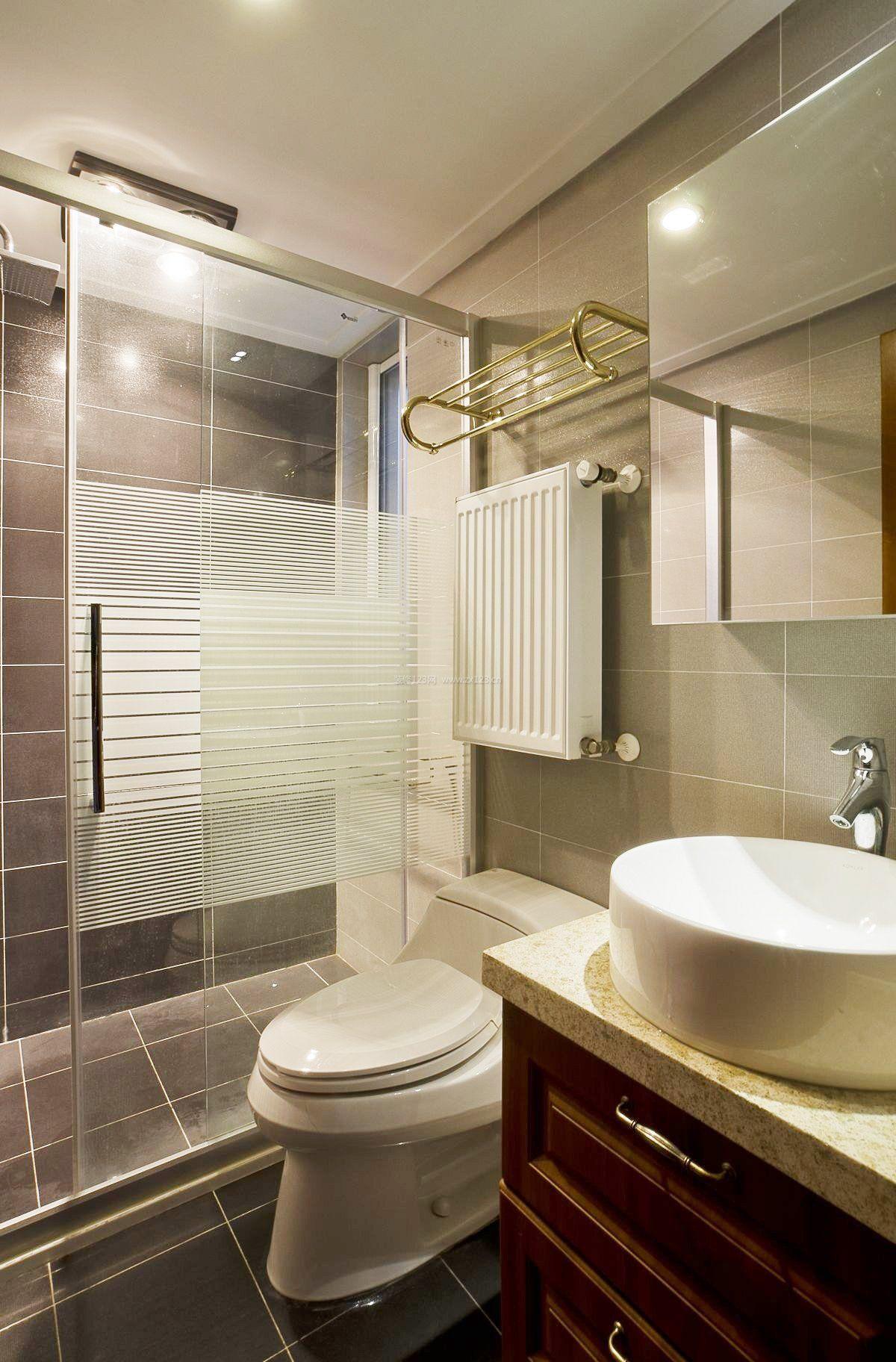 浴室简单装修效果图