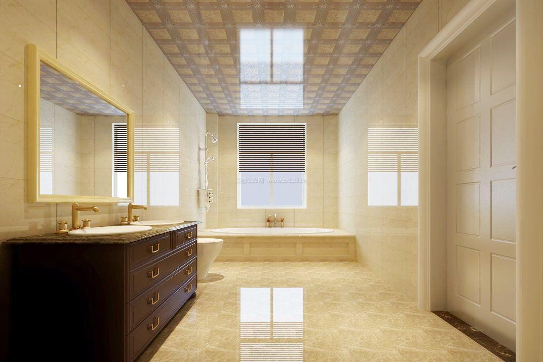 家装效果图 瓷砖 浴室瓷砖装修效果图赏析 提供者:   ← → 可以翻页
