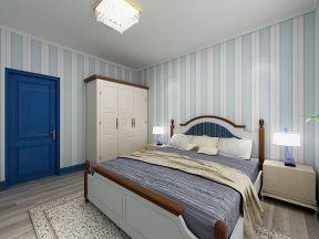 三室两厅装修效果图片 地中海风格卧室