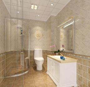 浴室瓷砖装修效果图