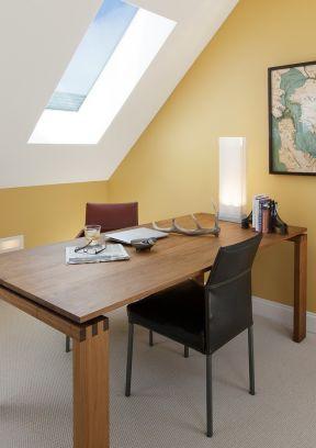 尖顶房屋室内装修设计效果图欣赏