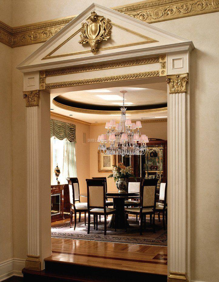 家装效果图 欧式 房屋室内欧式罗马柱装修效果图片 提供者:   ←图片