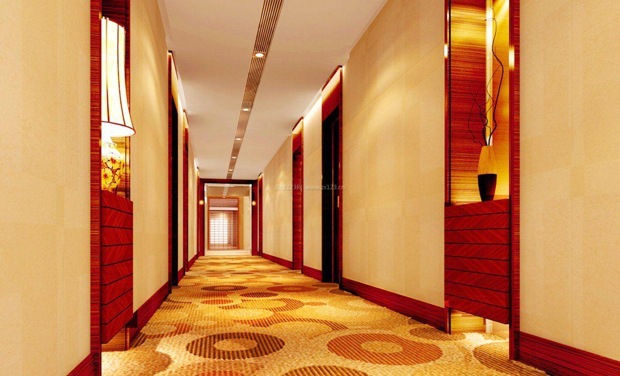 宾馆走廊过道吊顶装修效果图大全