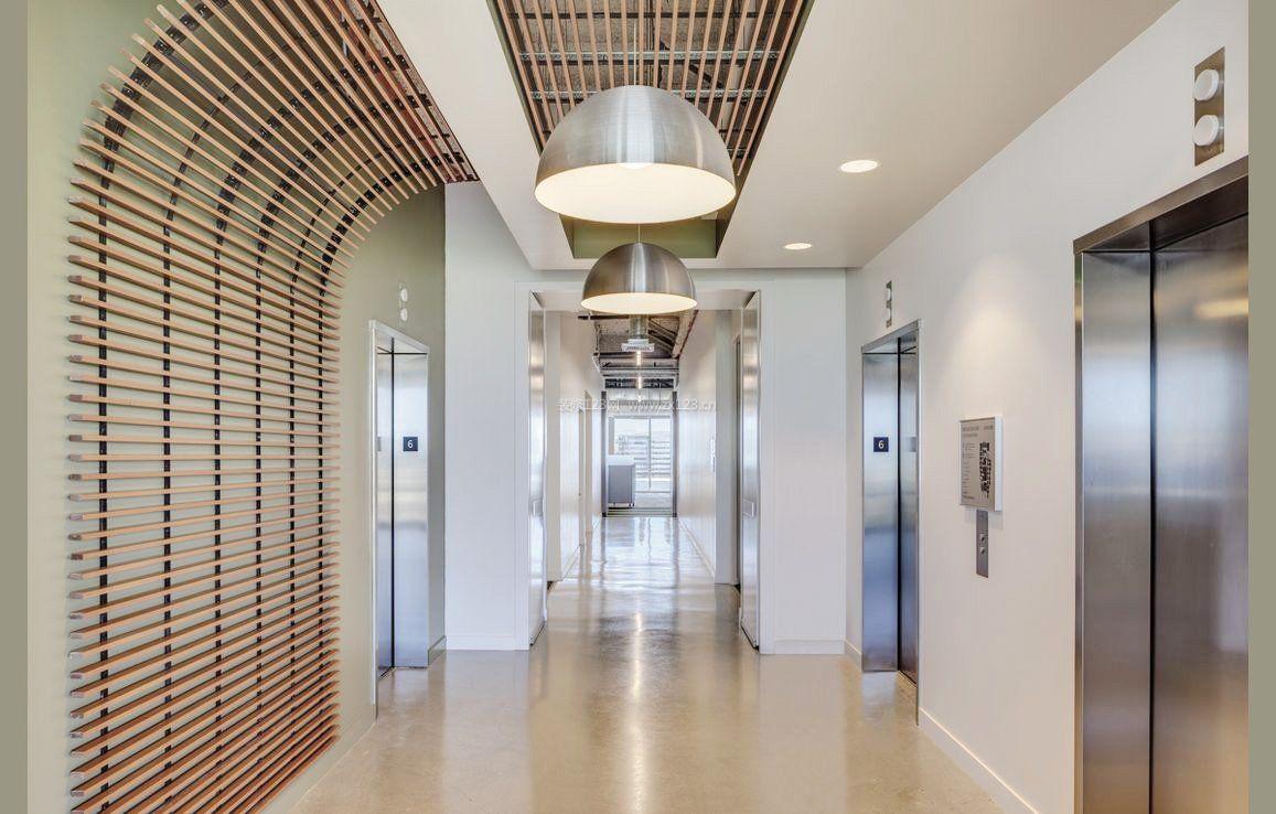 走廊过道吊顶设计装修效果图片