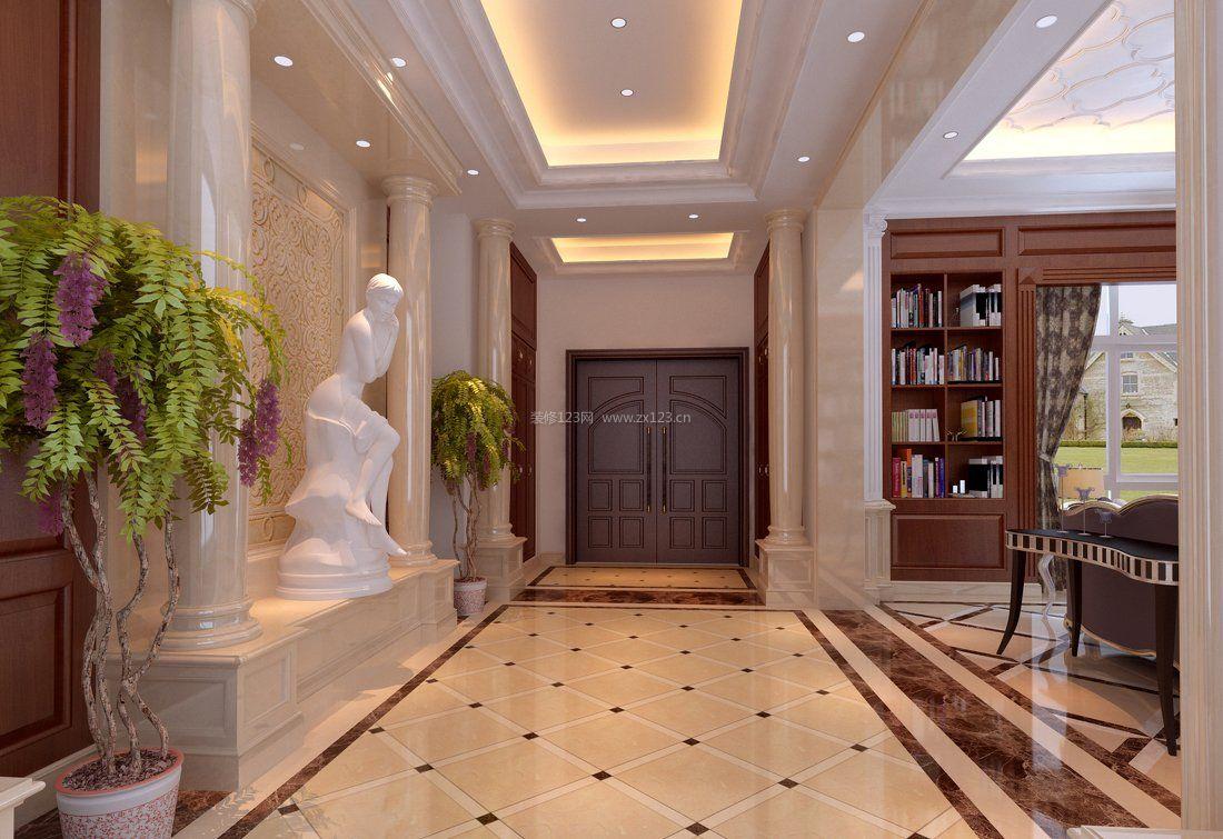 家装效果图 欧式 家庭室内欧式罗马柱装修图片大全 提供者:   ←图片
