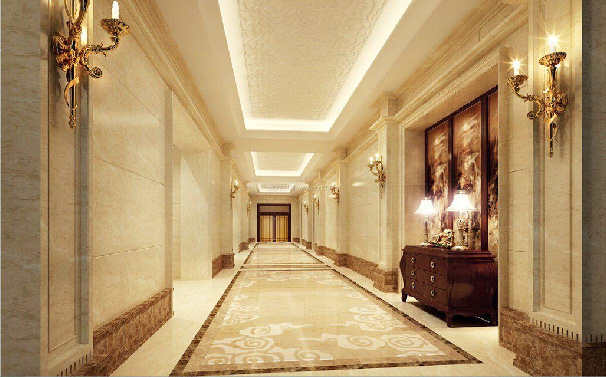 工装效果图 欧式 欧式风格走廊过道吊顶装修设计效果图 提供者:   ←