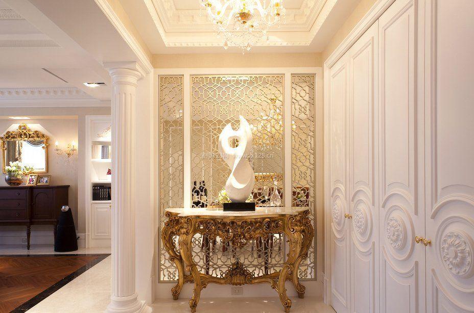 房屋室内欧式罗马柱装修效果图片欣赏