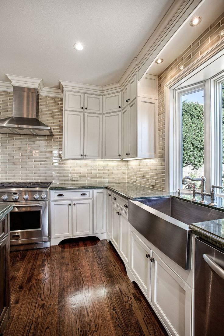 室内后现代风格l型厨房装修效果图