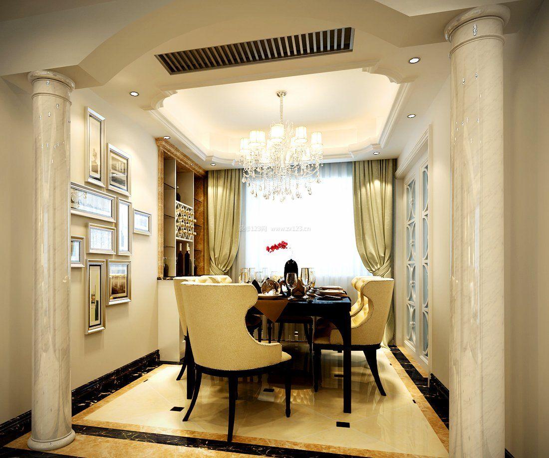 家庭室内欧式罗马柱装修效果图片大全图片