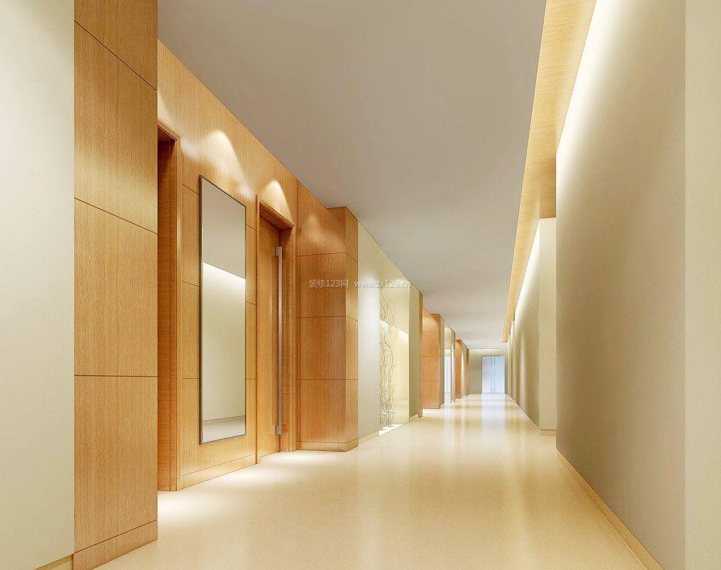 医院走廊过道吊顶效果图