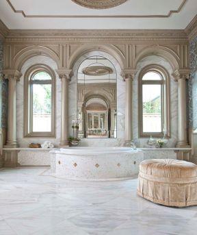 室内欧式罗马柱图片