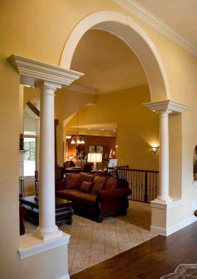 室内欧式罗马柱装修图片