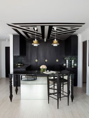 现代单身公寓装修设计图片2017