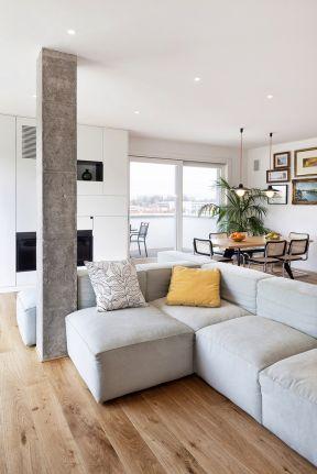 单身公寓室内装修设计图片