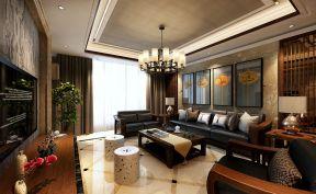 东南亚风格装修图片 沙发背景墙装修效果图欣赏