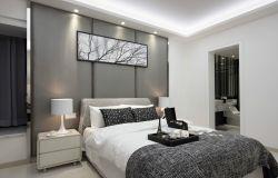 新房臥室床頭背景墻裝修效果圖片大全