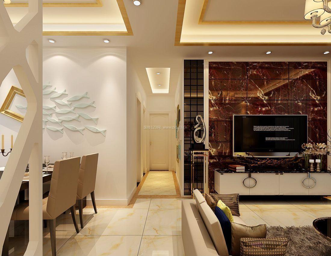 小客厅走廊过道吊顶装修效果图片