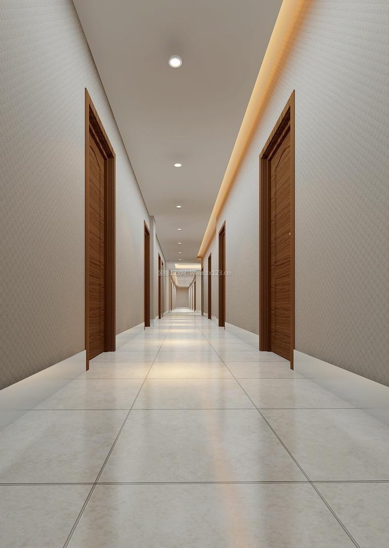 走廊过道简单吊顶装修效果图大全