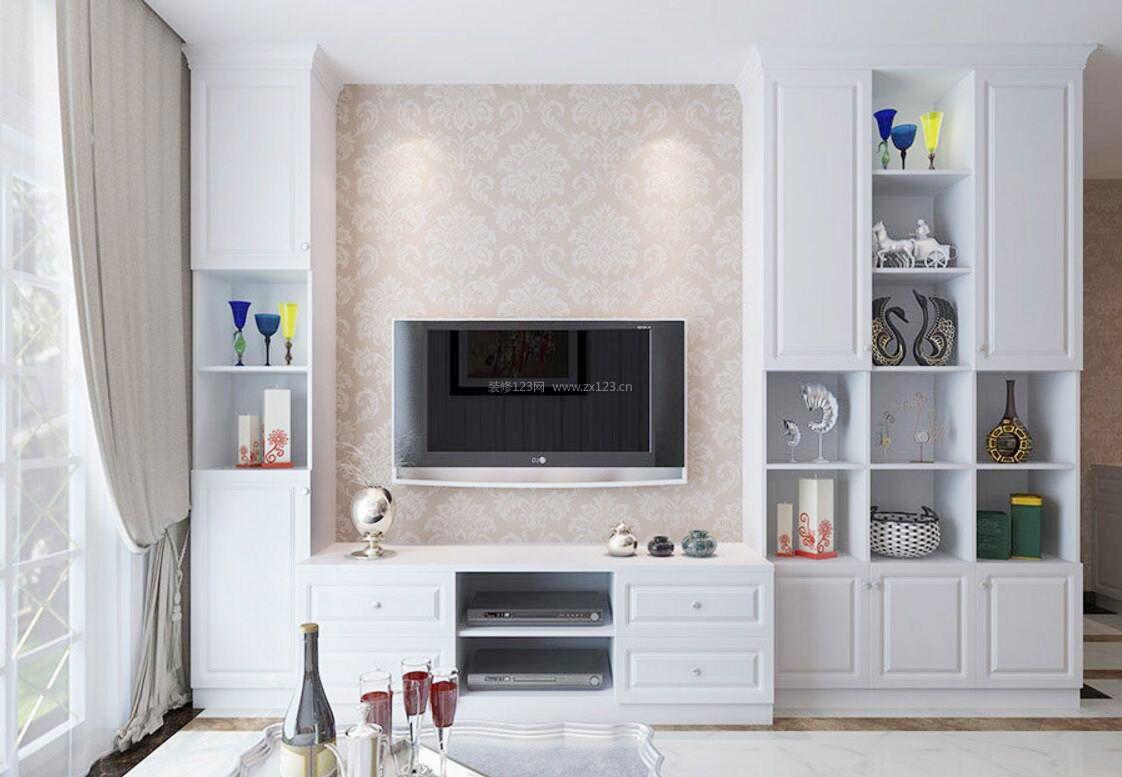 小电视背景墙装修效果图大全