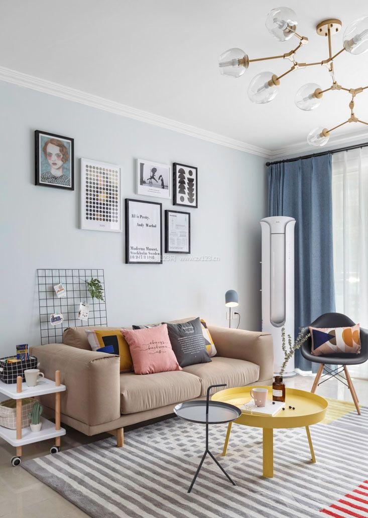 2017家装客厅照片墙装修效果图