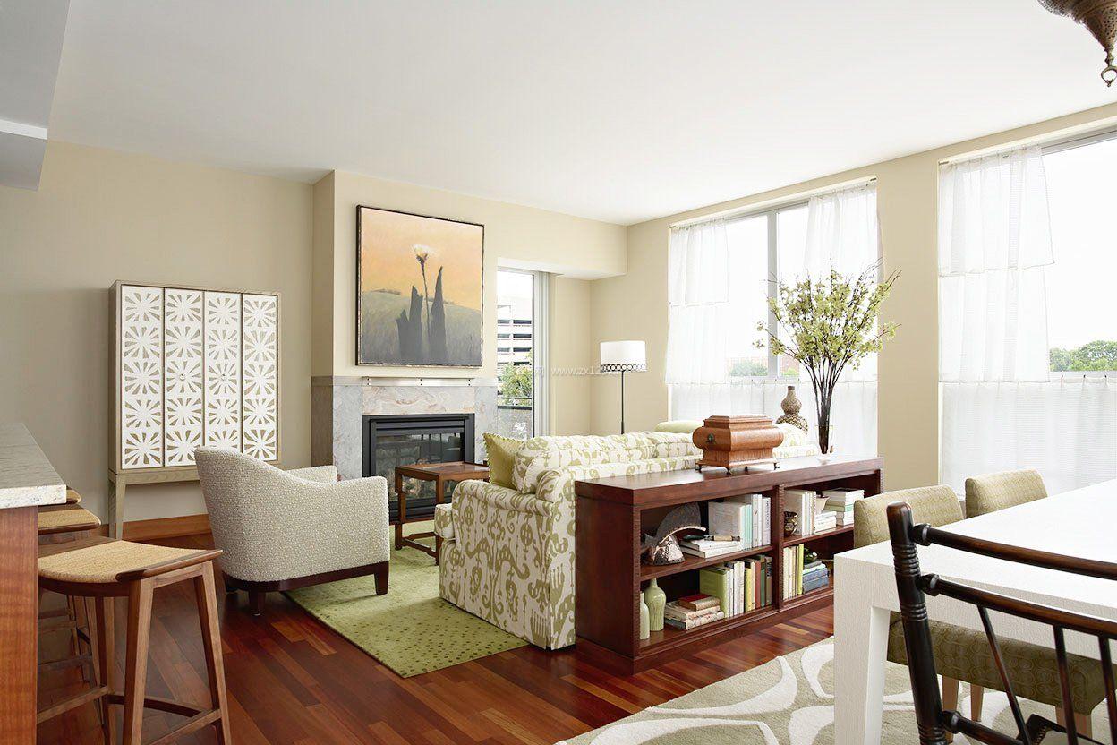 家装客厅装修效果图实木地板贴图