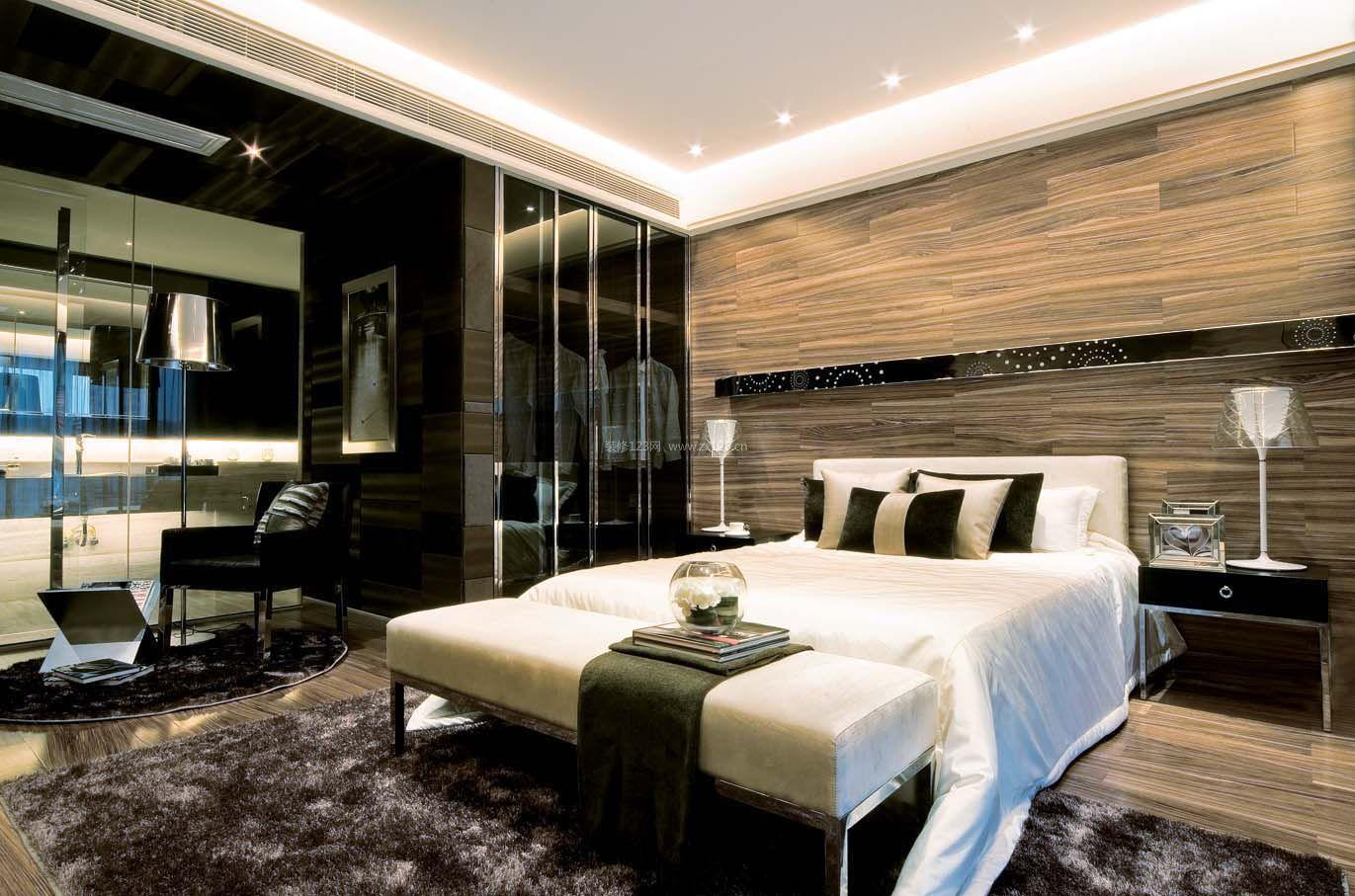 后现代风格卧室衣柜设计装修效果图图片