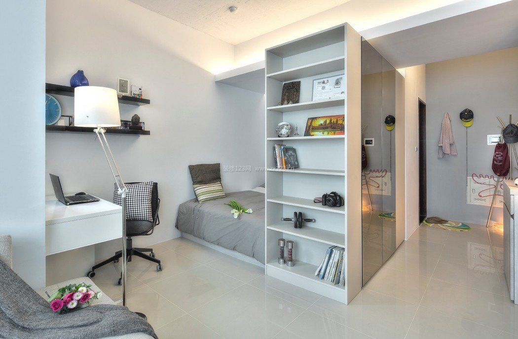节省空间小卧室布置装修效果图