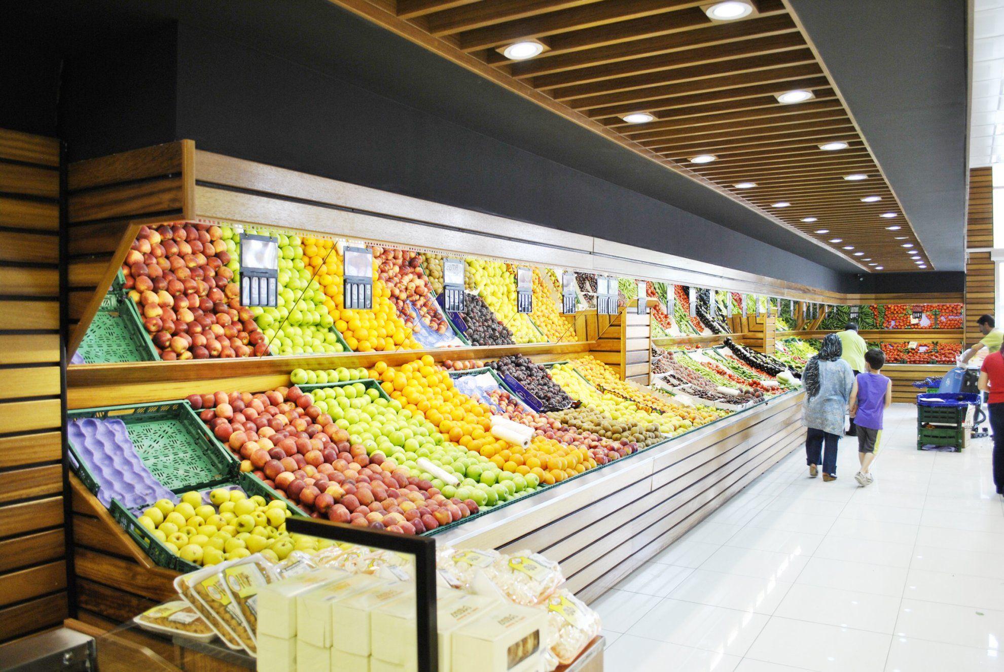 水果店吊顶装修效果图