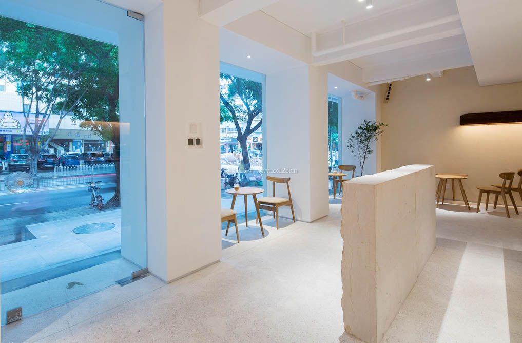 咖啡店橱窗设计装修效果图