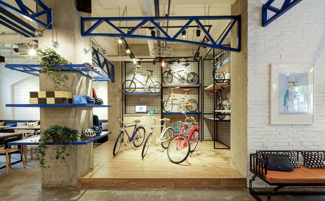 最新个性咖啡店室内装修效果图欣赏