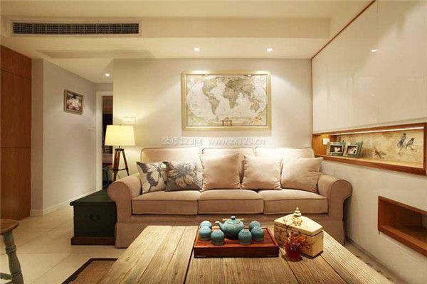 70平米客廳裝修報價