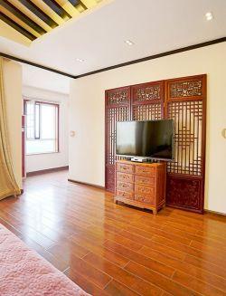 中式風格墻壁柜裝修效果圖