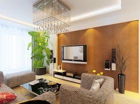 硅藻泥背景墻圖片 小戶型簡約客廳