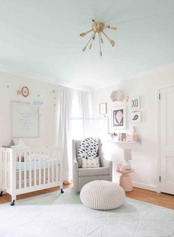 简欧两居室婴儿房装修效果图图片