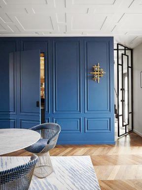 客厅隐形门效果图 装修门颜色搭配效果图