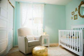 婴儿房装修效果图 样板房窗帘装修效果图