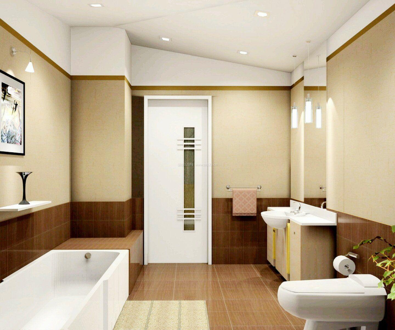 现代浴室门装修效果图大全
