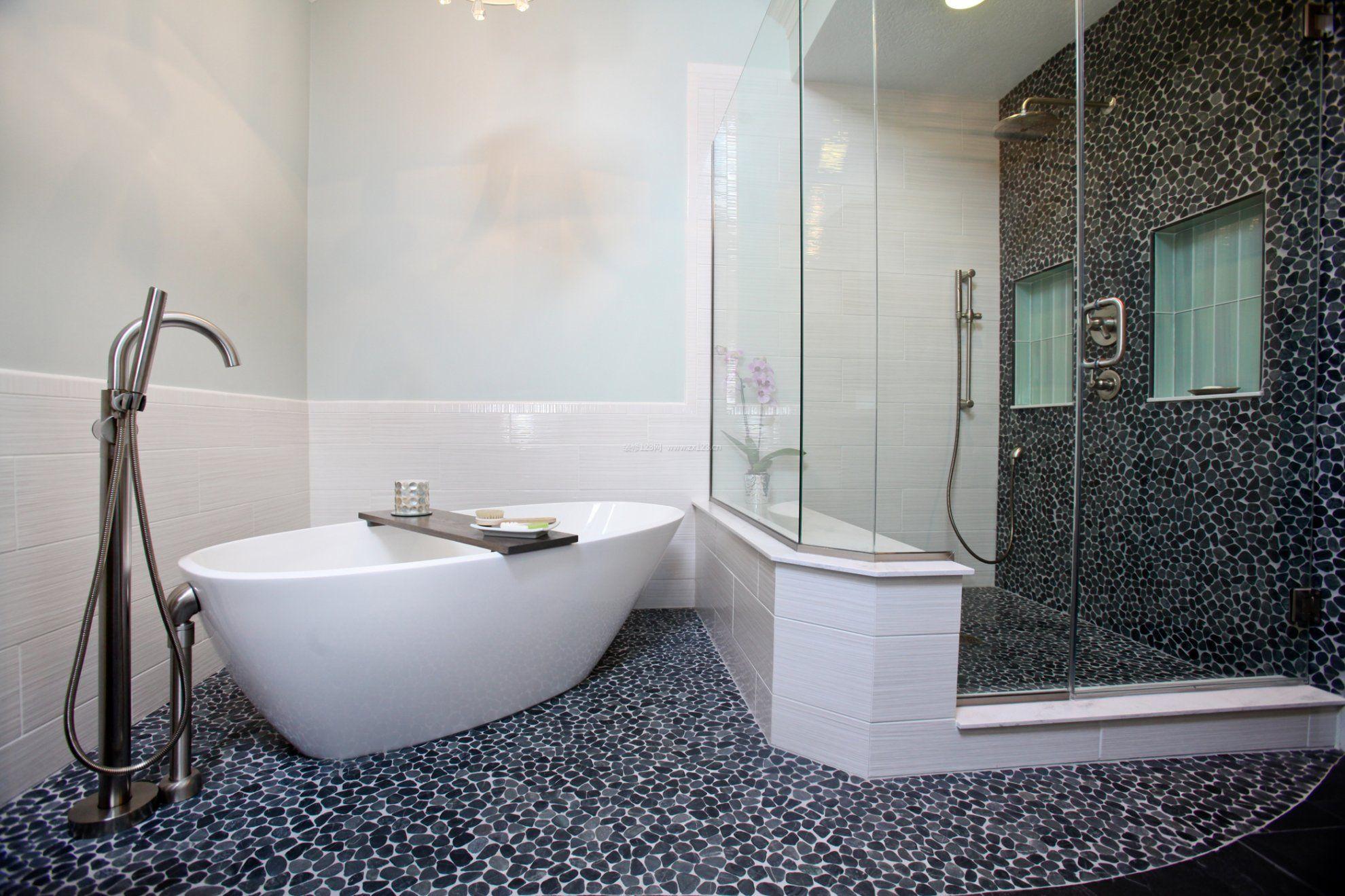 浴室玻璃门装修效果图大全
