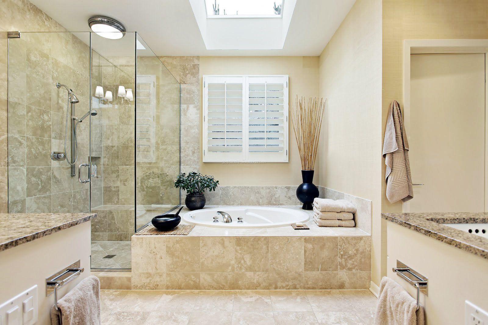 淋浴房浴室玻璃门装修效果图