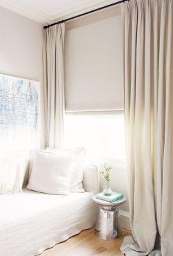 温馨女生卧室设计小窗户窗帘效果图
