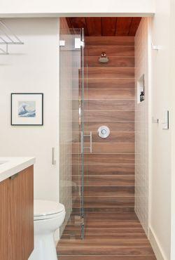 浴室玻璃门装修效果图片
