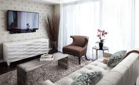 客廳壁紙效果圖大全 超小客廳裝修效果圖