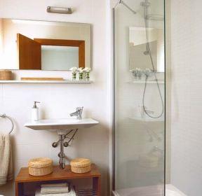 浴室玻璃门隔断装修效果图-每日推荐