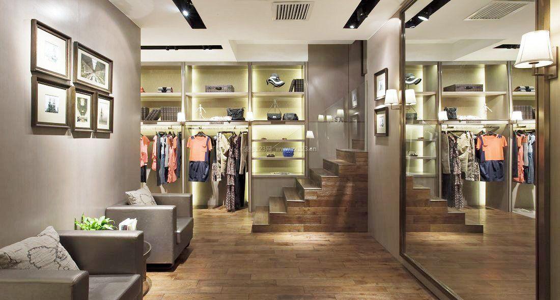 小型服装店风格休闲区布置装修效果图片