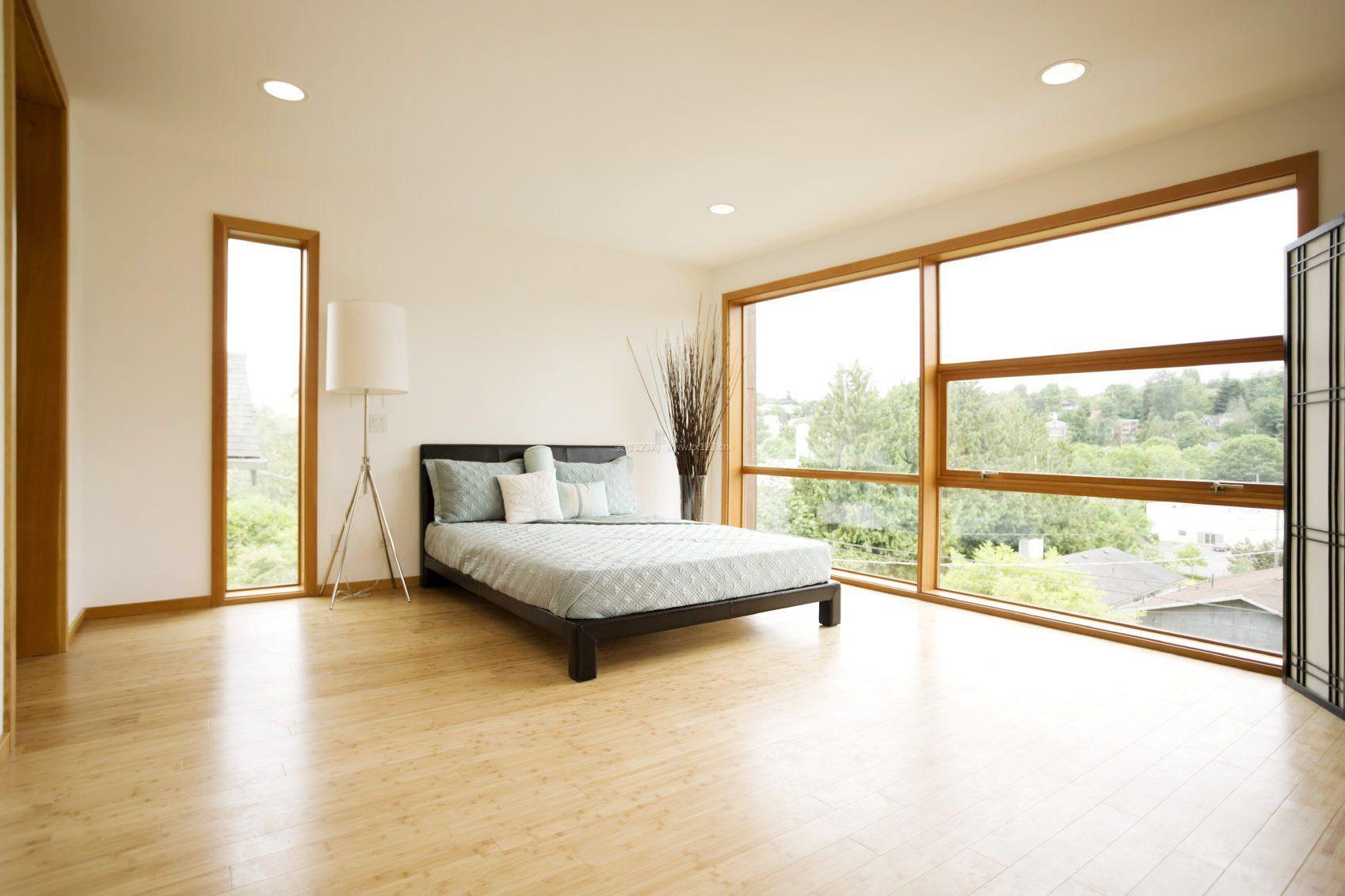 15平米卧室落地窗装修效果图片大全
