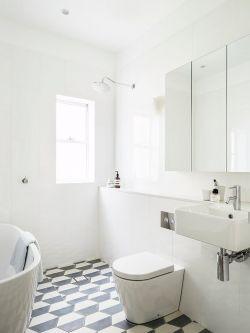 純色衛生間裝修設計圖